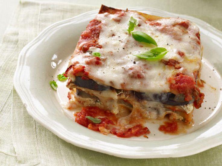 Eggplant Lasagna Parmesan