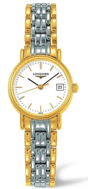 Longines Presence Two-Tone Ladies Watch L42202127 #Longines