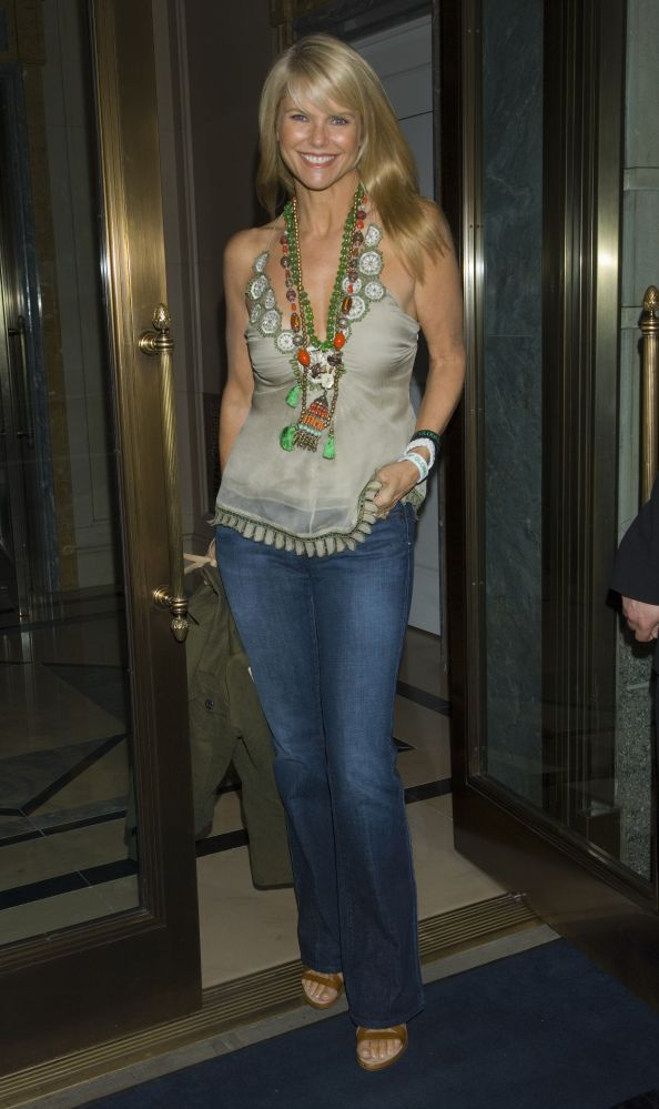 Glamour. Christie Brinkley's Style Evolution 2006 WireImage.