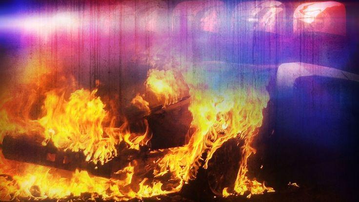Human remains in burning Punta Gorda car ruled homicide | WINK NEWS
