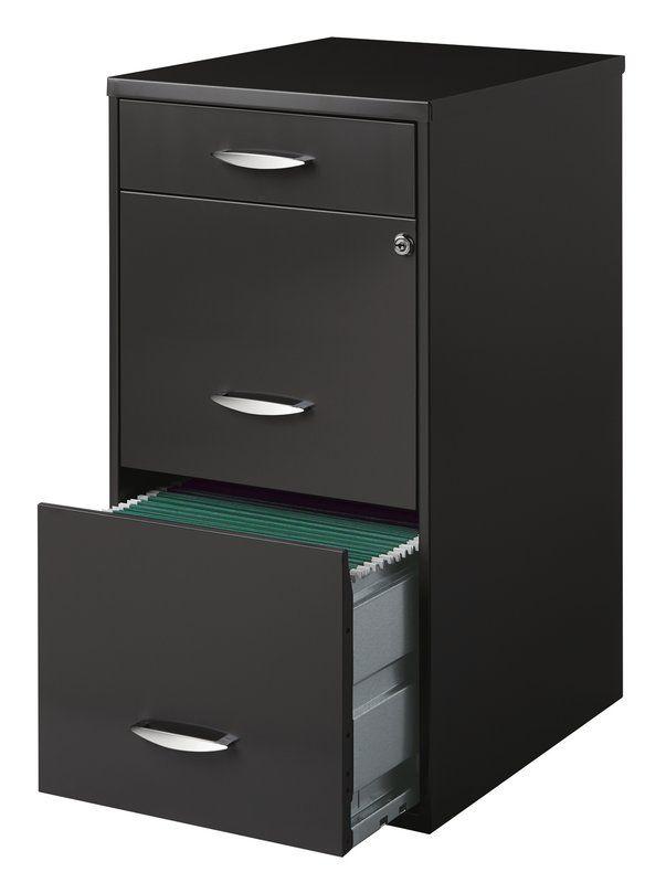 Hogge Office Designs 3 Drawer Vertical Filing Cabinet Filing