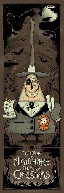 Mayor of Halloweentown...  Nightmare before Christmas