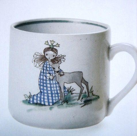Arabia Finland, vintage mug