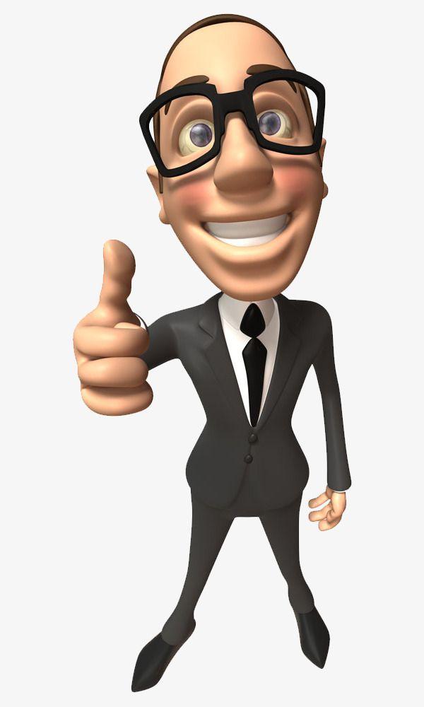Cartoon Business Man Cartoon Clipart Business Clipart Man