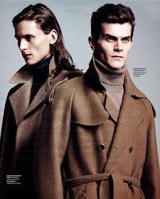Polish Models Blog: Editorial: Tomek Szczukiecki for Menswear, January 2012