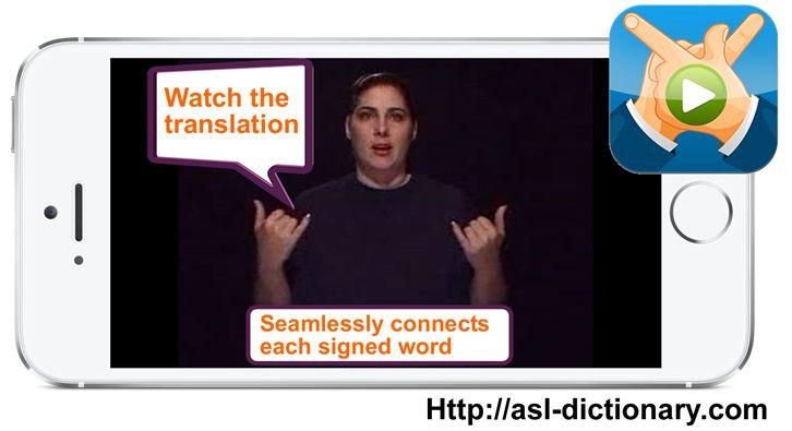 ASL Translator App. Text-to-Sign