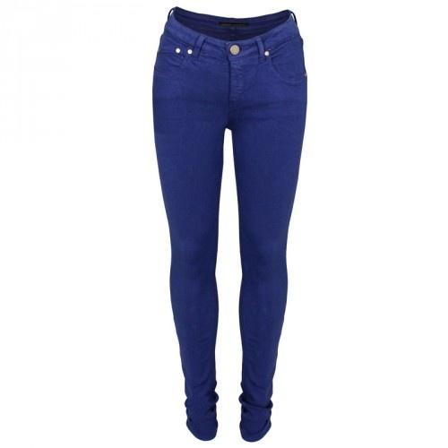 Victoria Beckham Power Skinny Jean in cobalt | GarmentQuarter: Jean Cobalt, Aw Wear, Skinny Jeans, Victoria Beckham, Beckham Power