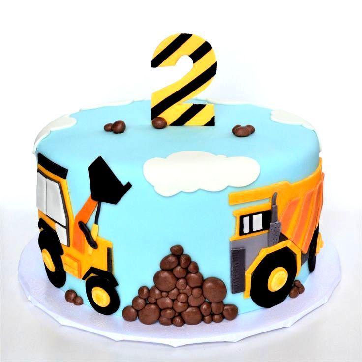cake design truck gesunder kuchen kindergeburtstag  Truck birthday cakes