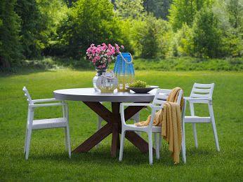 Świetnie jest rozpocząć dzień śniadaniem w otoczeniu przyrody, zjeść niedzielny obiad na tarasie lub przyjąć gości wieczornym Garden Party. http://domotto.pl/c/58/klosters-kolekcje-meble-do-ogrodu.html