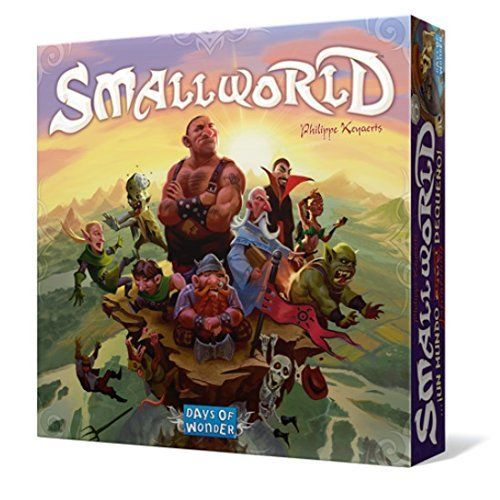 Small World - In Small World, players vie for conquest and control of a world that is simply too small to accommodate them all. Designed by Philippe Keyaerts as a fantasy follow-up to his award-winning Vinci, Small World is inhabited by a zany cast of characters such as dwarves, wizards, amazons, giants, orcs ...