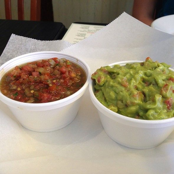 Salsa And Guacamole @ Anna's Taqueria | Dining Out: New England | Pi ...