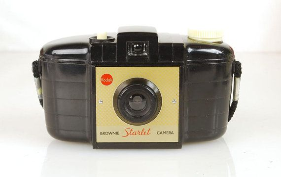 Rare Vintage 1950s Kodak Brownie Starlet Film Camera, Made in England, Retro Chic on Etsy, $34.95