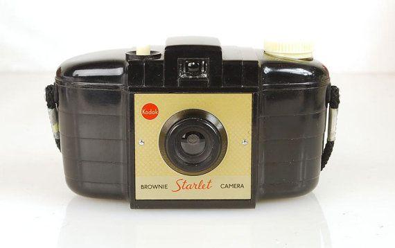 Rare Vintage 1950s Kodak Brownie Starlet Film Camera, Made in England, Retro Chic on Etsy, $34.95