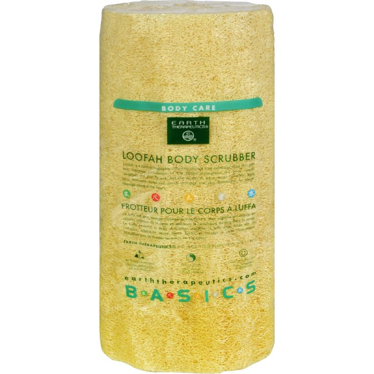 Earth Therapeutics Loofah Body Scrubber - 1 Loofah