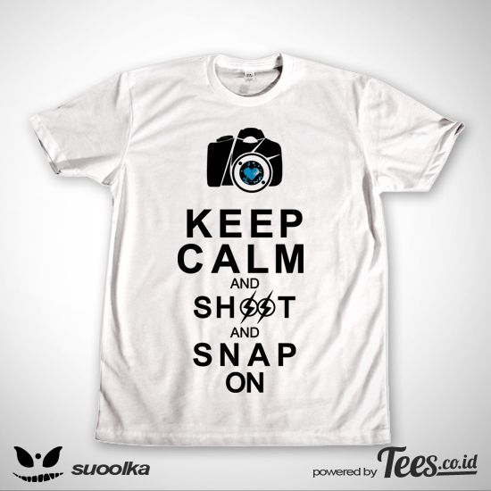 Shoot and Snap on dari Tees.co.id oleh Suoolka