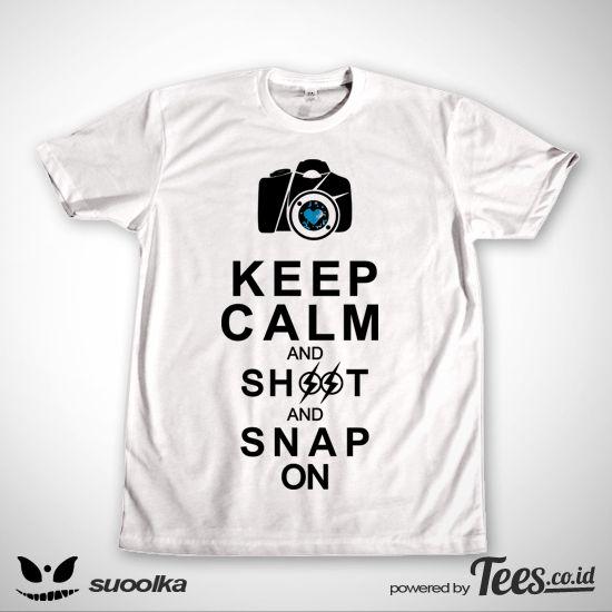 Shoot and Snap on dari Tees.co.id oleh Suoolka