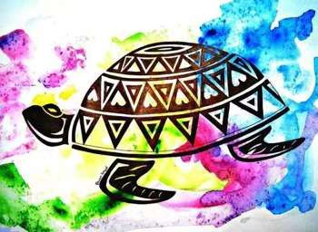 """""""Waterclors And Zentangle"""" My shop- www.etsy.com/shop/shivamsehgalartwork  #Creative #Art in #design @Touchtalent http://bit.ly/Touchtalent-p #ink #design #tortoise #cute #shivam #sehgal #artwork #creative #zentangle #tattoo #water #colorful"""