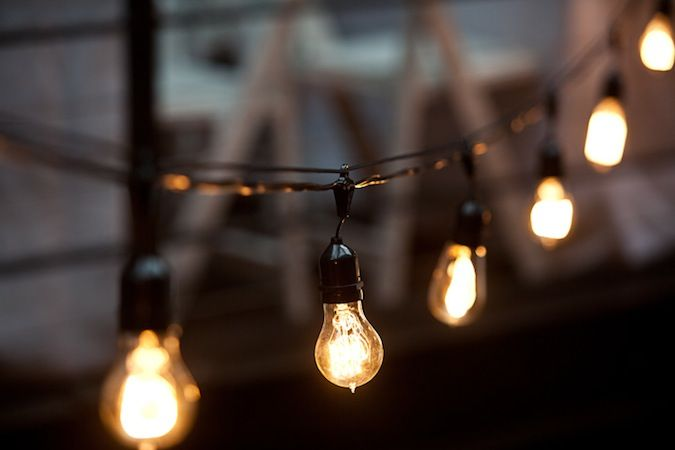 Love love LOVE stringed light bulbs! Awesome for parties, BBQs and bedrooms! Works inside and outside! Would look great in a backyard!!! Use it anywhere in your home!