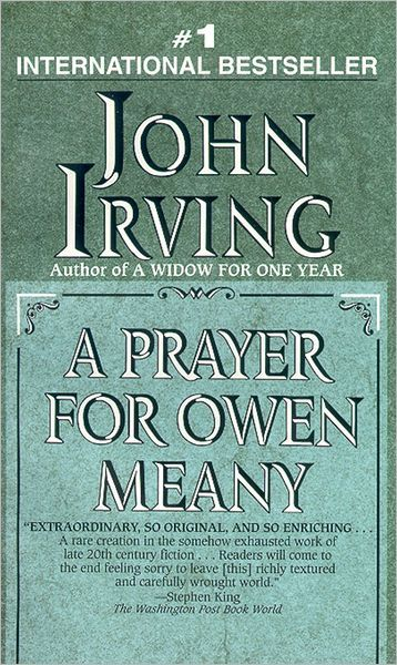 owen from irvings a prayer for own meany as an example of a great teacher Irving's prayer for owen meany has been recommended to me several times and i'm eager to read it however, i'm wondering if i can do a research.
