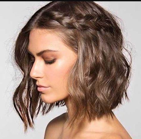 """Résultat de recherche d'images pour """"frisyrer halvlångt hår"""""""