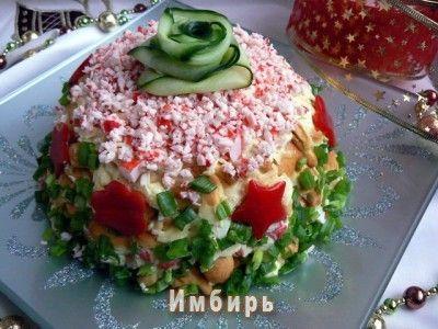 Закусочный тортик из крекеров «Простое удовольствие»