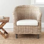 Omni Natural Unfinished Wood Arm Chair