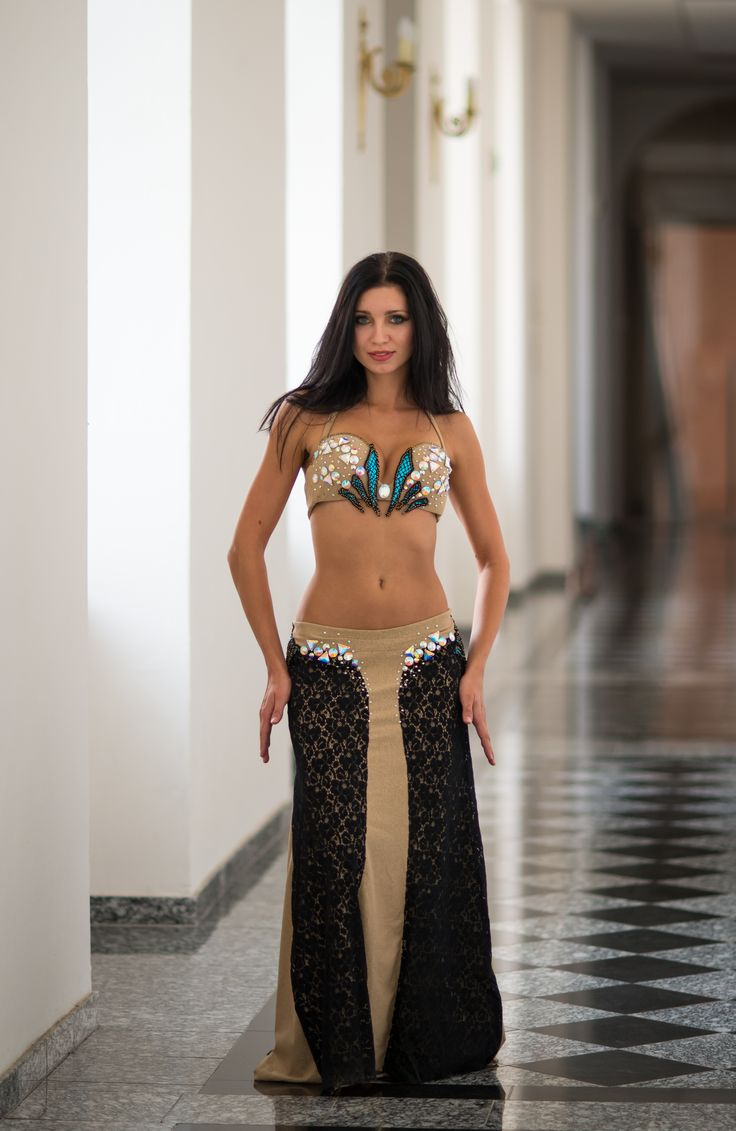 Bellydance Costume, Abstract.