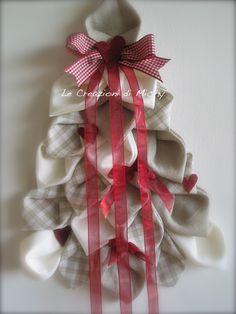 Le Creazioni di Michy: Albero di Natale Country (fuoriporta)