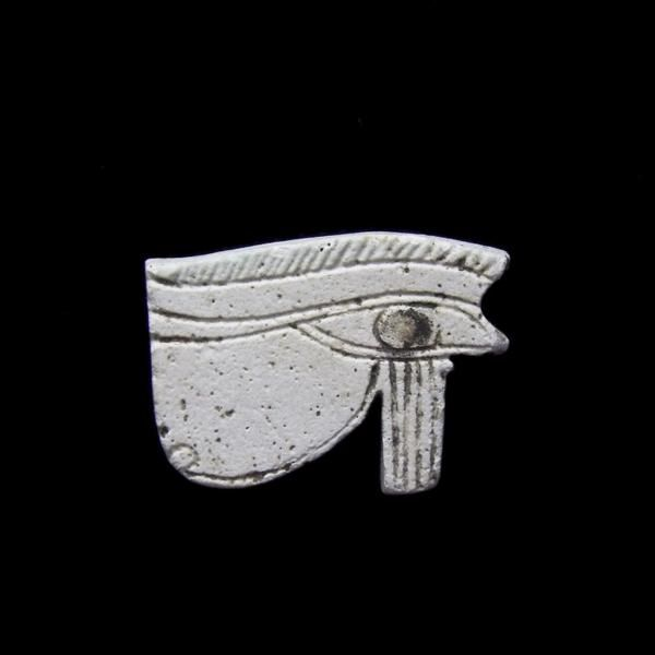 White Eye Of Horus Amulet, Egypt, Late Period c.664- 332 BC - BuyHistory.com