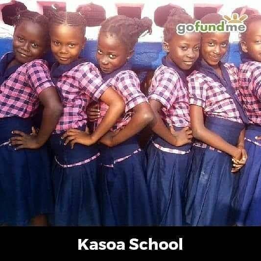 "bspwme: ""#GofundmeKasoaschool #Kasoaschoolofexcellence #30dollarsfor500students1000donors """