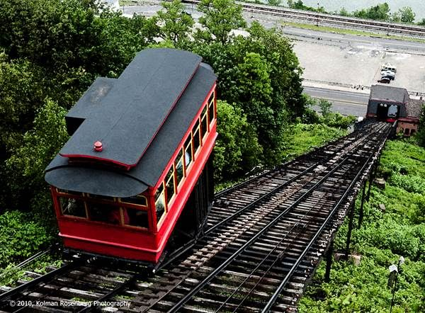 Pittsburgh Incline:  It's one of the city's most popular attractions but we can bet you didn't know these....