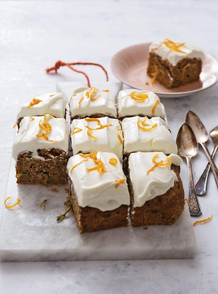 Hoe leuk dat je met een plak cake ook nog eens groente binnenkrijgt!- Recept - Allerhande