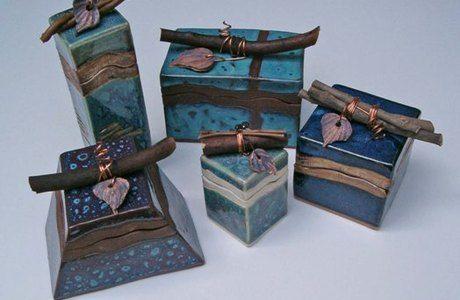 Ceramics: Hands-On Clay Ceramic Keepsake Boxes