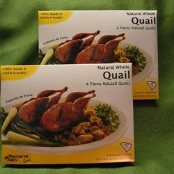 8 Whole Quail Pack. Quail Meat For Sale. Order online today at https://store.pheasantfordinner.com/p-13-quail-pack.aspx