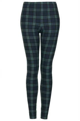 legging in #blackwatch #plaid