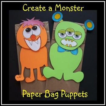 Let the students design their own Hallowe'en Monster! What is included: - 1 head shape - 2 body shapes - 4 options for eyes - 4 options for eyes / nose - 3 options for mouths - hair plus 2 antennae - 2 simple writing activities have been prepared which can be placed on the back of the monster (grade 1 or 2 or 3)