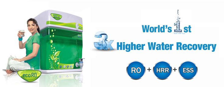 ZeroB eco RO description 70% Pure water recovery 3X higher pure water recovery than other conventional RO purifiers  Reduces water wastage by 80% Sanitizes the water storage tank 24 x 7 to prevent germ build-up Awarded Best Water R&D and Technological Breakthrough eco RO 2012 – 13 by UNESCO and WQA