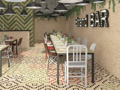 ChIpboard Effect Tiles - The Strand Collection