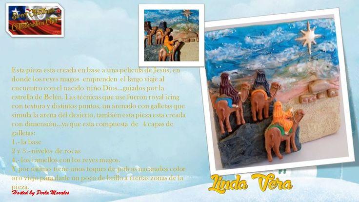 Sweet Christmas Cakes collaboration Chile!! Dic 2016 Linda Vera
