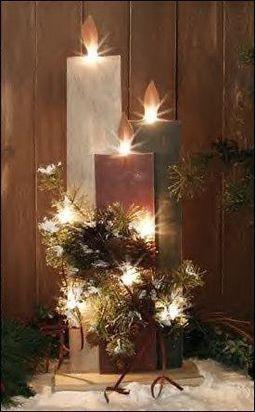 pinterest primitive craft trends   primitive christmas decorations/ This would ...   charandbarney@road ...