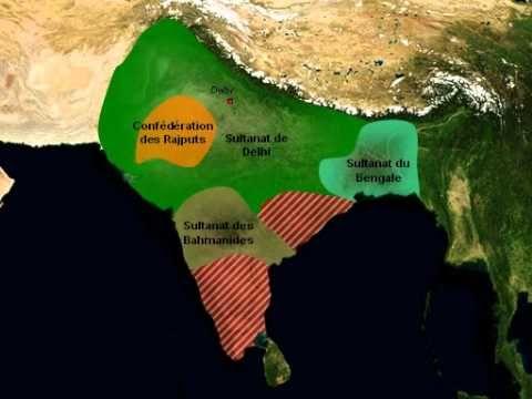 INDE Histoire - Sultanat de Delhi (de 1000 à 1500)