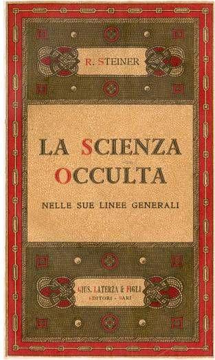 La Scienza Occulta - O.O. 13 (Rudolf Steiner) - copertina
