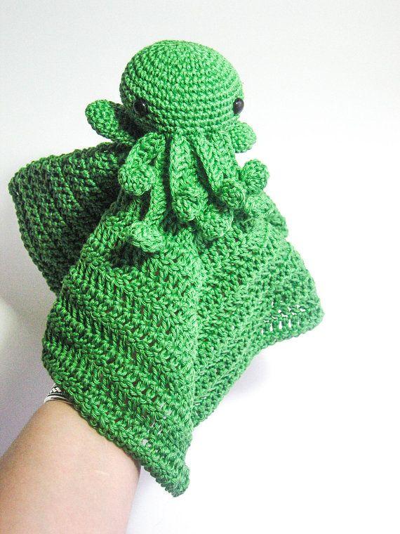 Cthulhu Amigurumi Crochet Pattern - FREE | Monstros de crochê ... | 760x570