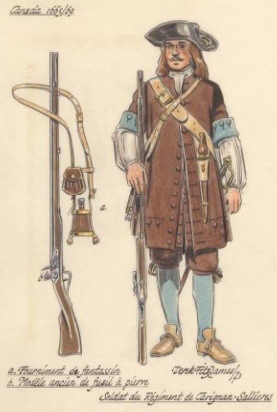 Soldat de carignan sali res avec ses v tements et son for Porte et fenetre boulet sorel