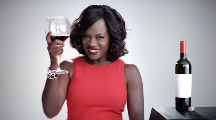 Viola Davis in How to get away with murder promo