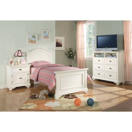 Best Picket House Furnishings Addison Panel Bed With Headboard 400 x 300