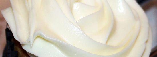 Hvid frosting med flødeost