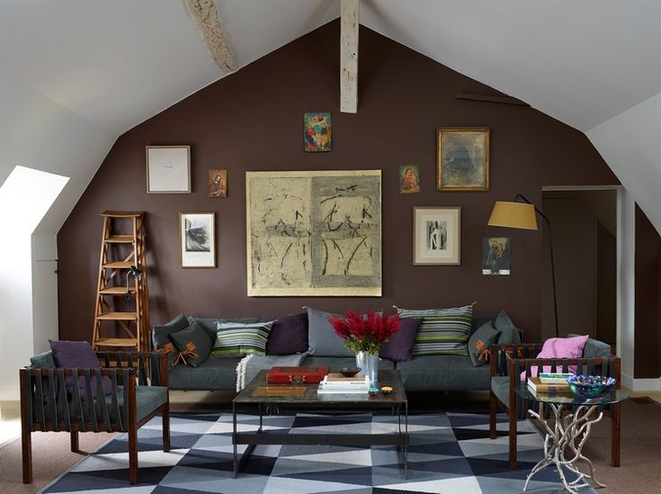 Die besten 25+ Wandfarbe braun Ideen auf Pinterest Wohnwand - wohnideen wohnzimmer braun lila