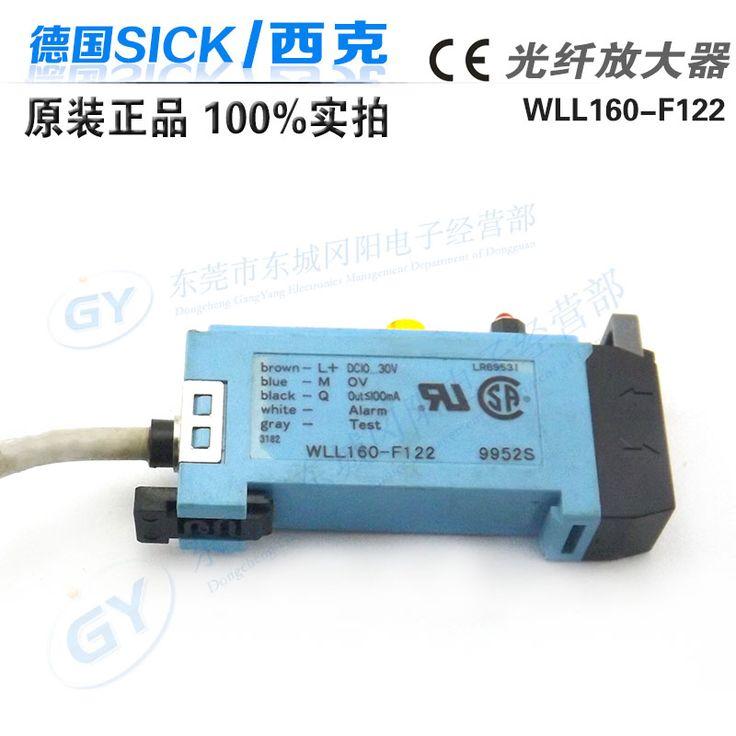 WLL160-F122 Original  Authentic Optical Fiber Amplifier Photoelectric Sensor