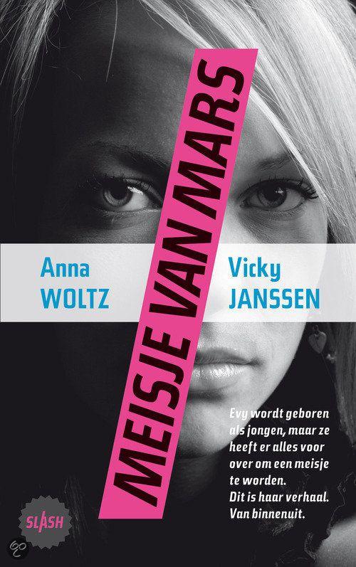 Recensie (★★★★☆) van Anna Woltz - Meisje van Mars | Querido Kinderboek, 2011, 128 pagina's | tiplijst Jonge Jury 2013 | Al heel vroeg weet Evert dat hij eigenlijk een meisje is, maar in een ander lichaam zit. Zijn ouders begrijpen het niet. Dan volgt de lange weg om erkend te worden. | http://www.ikvindlezenleuk.nl/2014/01/anna-woltz-vicky-janssen-meisje-van-mars.html